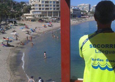 Medios Acuáticos - Vigilancia desde Torres de Control en Playas