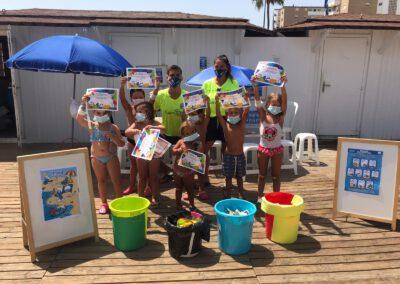 Taller de concienciación y educación ambiental Playas de Fuengirola 09